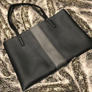 NWOT Vince Camuto black tote bag